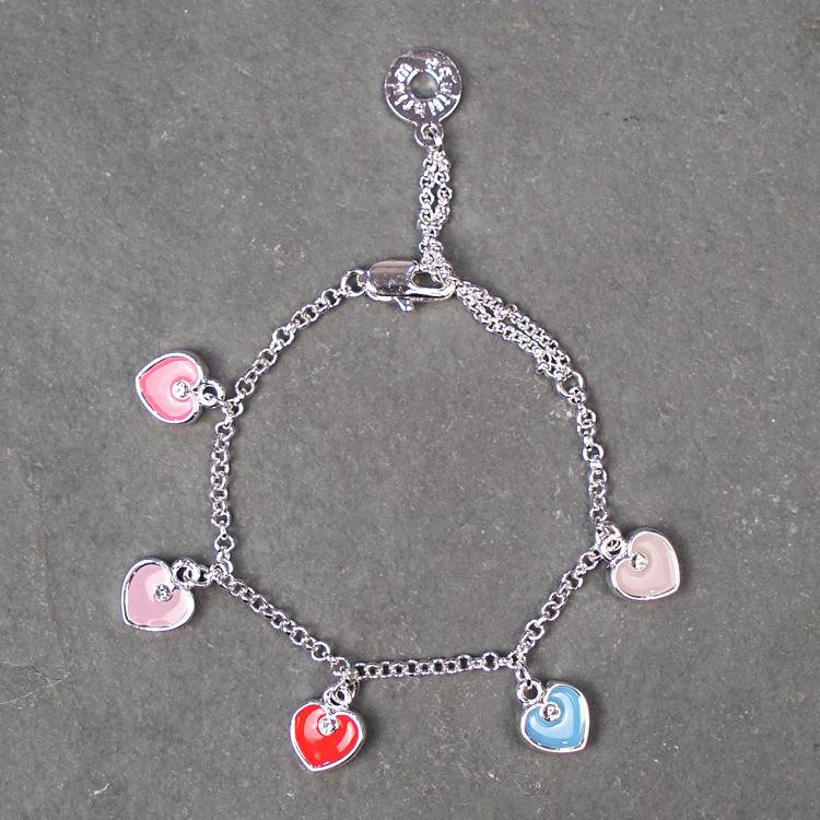 equilibrium girls heart charm bracelet