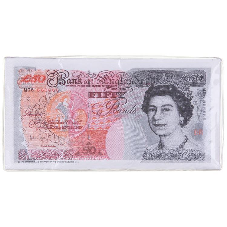 £50 Bank Note Napkins