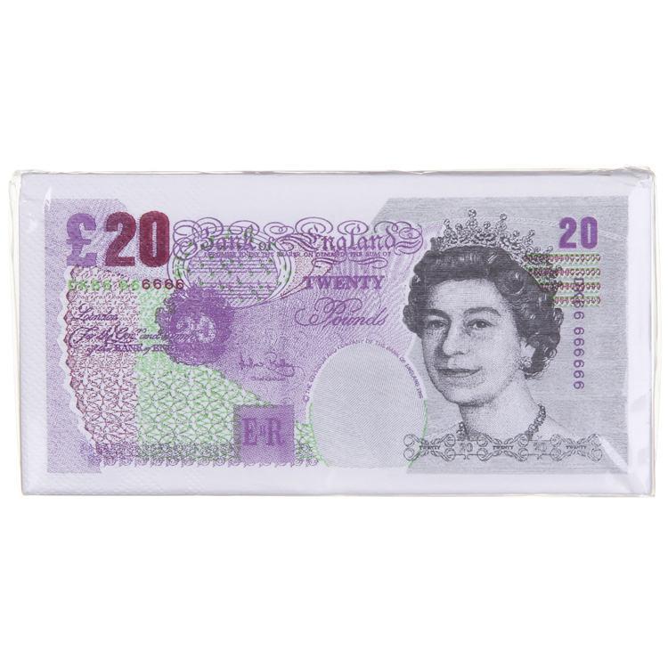 £20 Bank Note Napkins