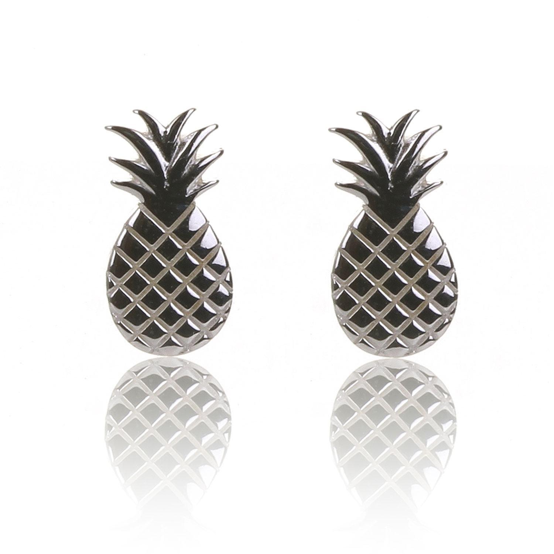 Elements Pineapple Stud Earrings
