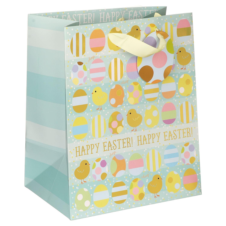 Glick Chicks & Eggs Large Easter Gift Bag