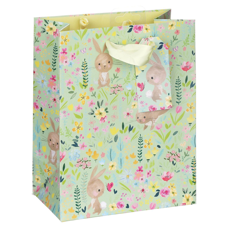 Bunny Meadow Medium Easter Gift Bag