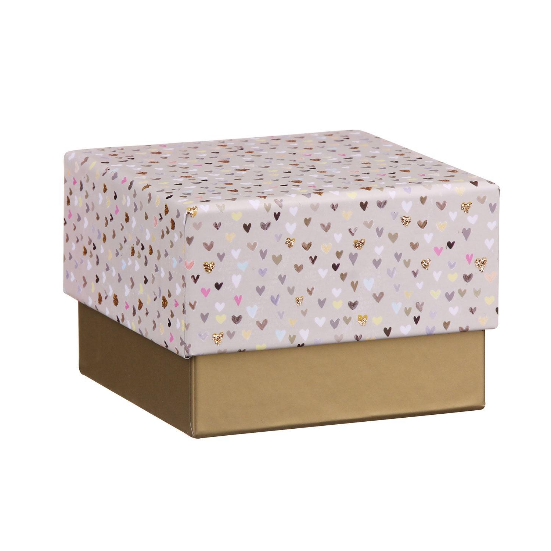 Gold Hearts Jewellery Gift Box
