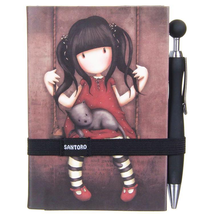 gorjuss ruby soft touch journal