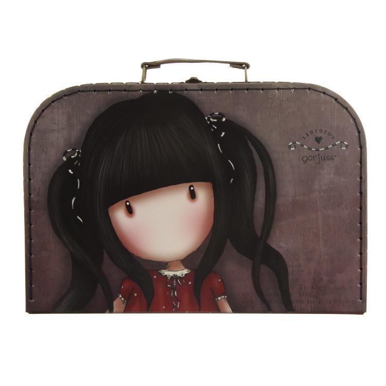 gorjuss ruby large suitcase box