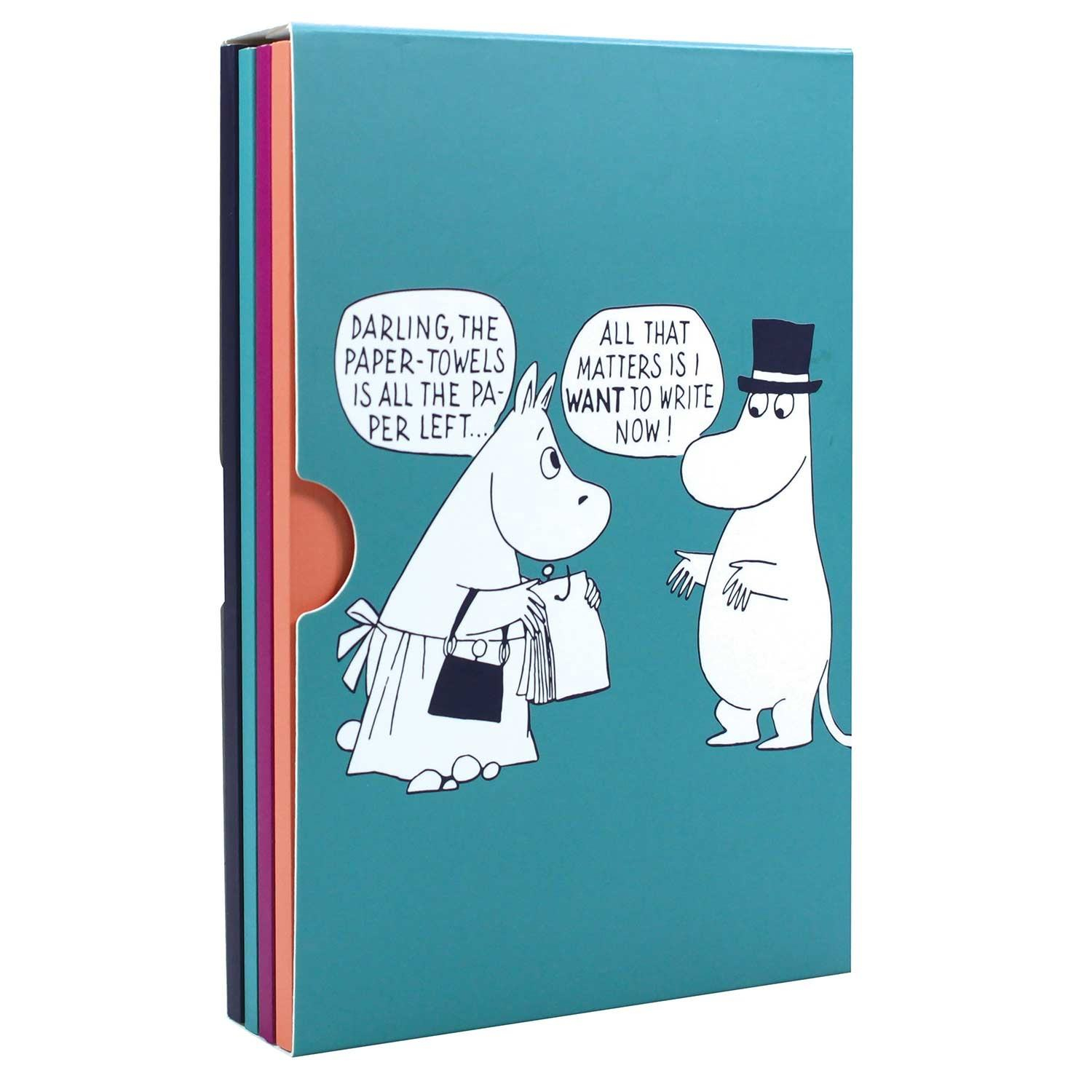 Moomin Set of 4 A6 Notebooks