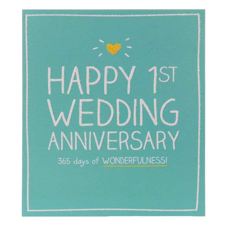 Happy Jackson 365 Days Of Wonderfulness Anniversary Card