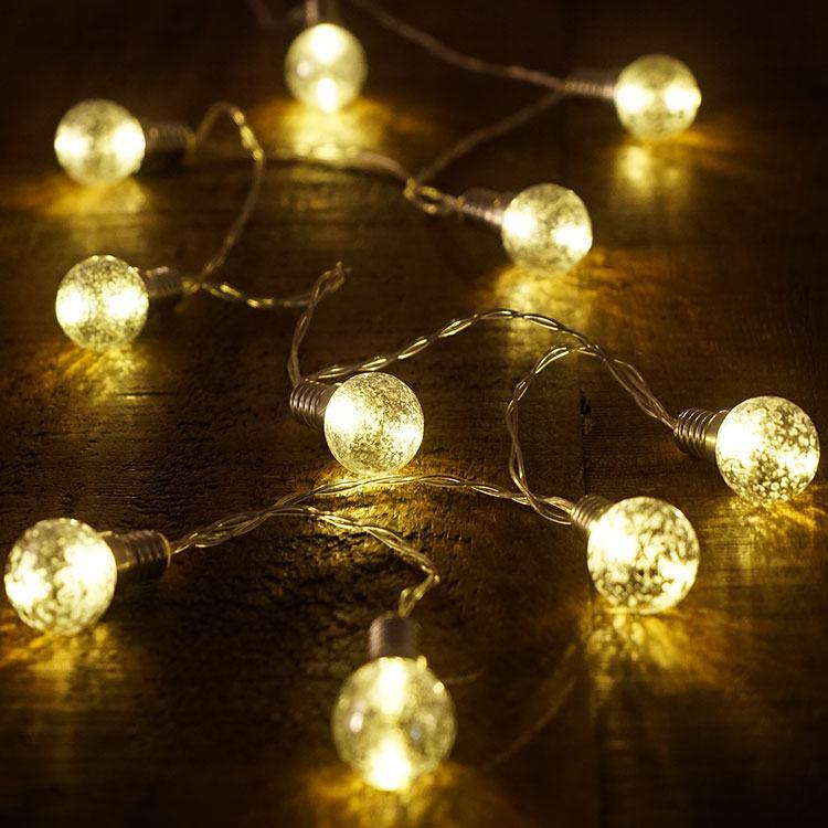 led silver string lights