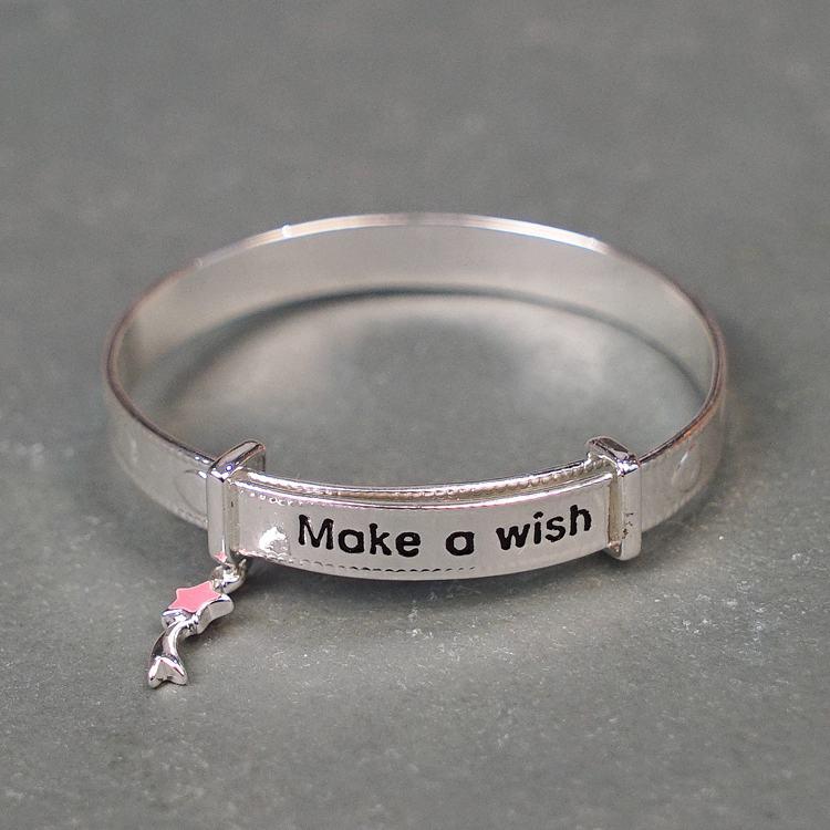 equilibrium girls make a wish charm bracelet
