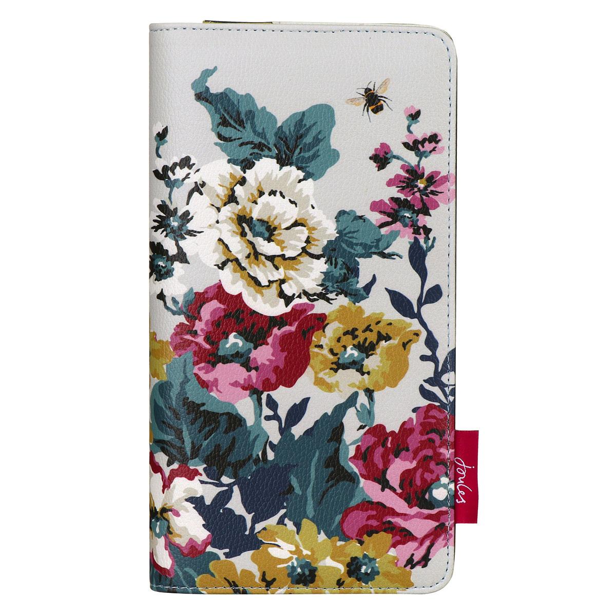 Joules Cambridge Floral Travel Wallet