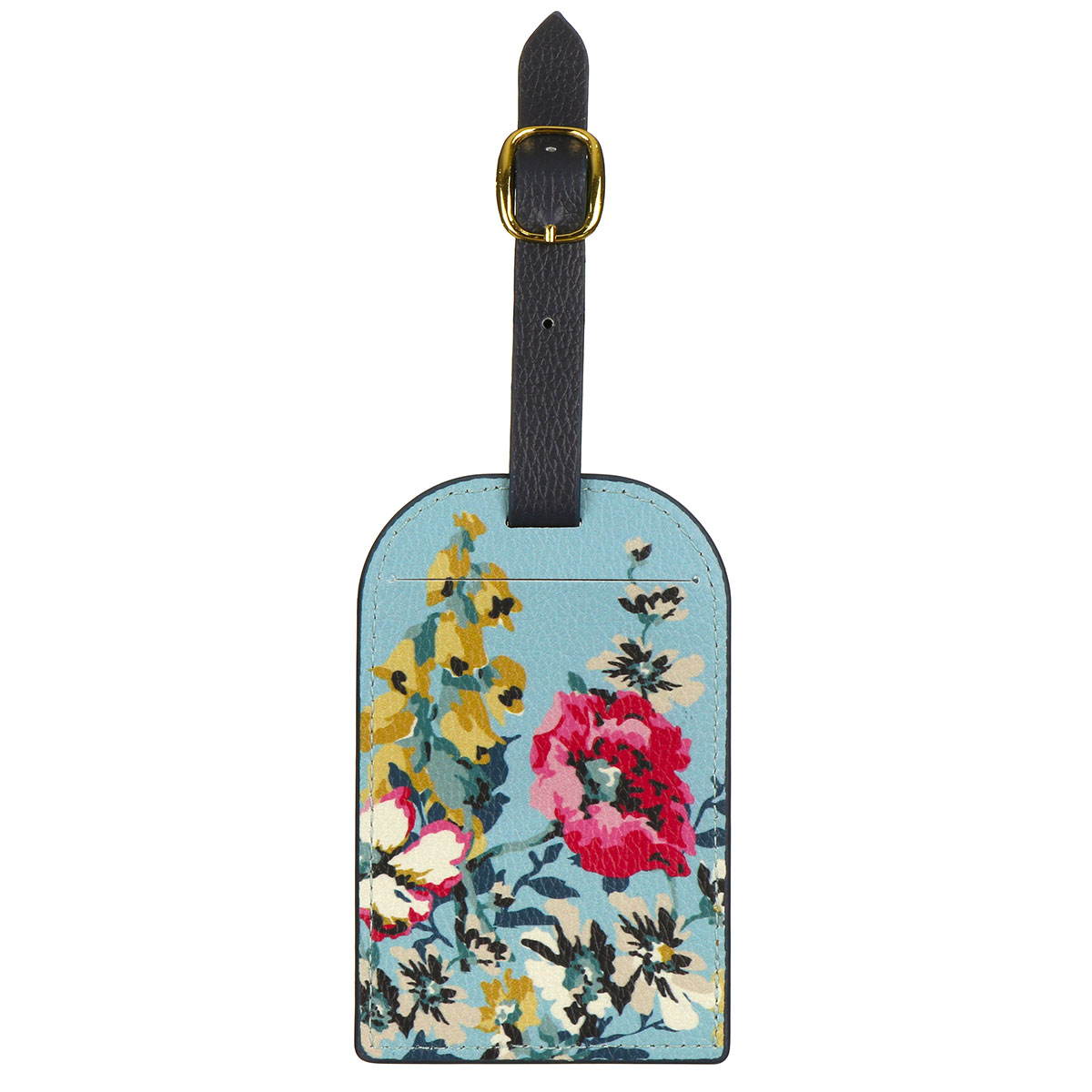 Joules Cambridge Floral Bee Luggage Tag
