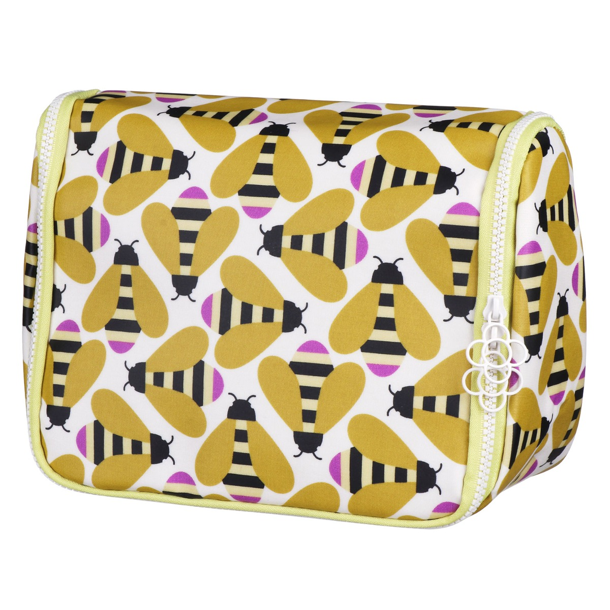 Orla Kiely Busy Bee Hanging Wash Bag