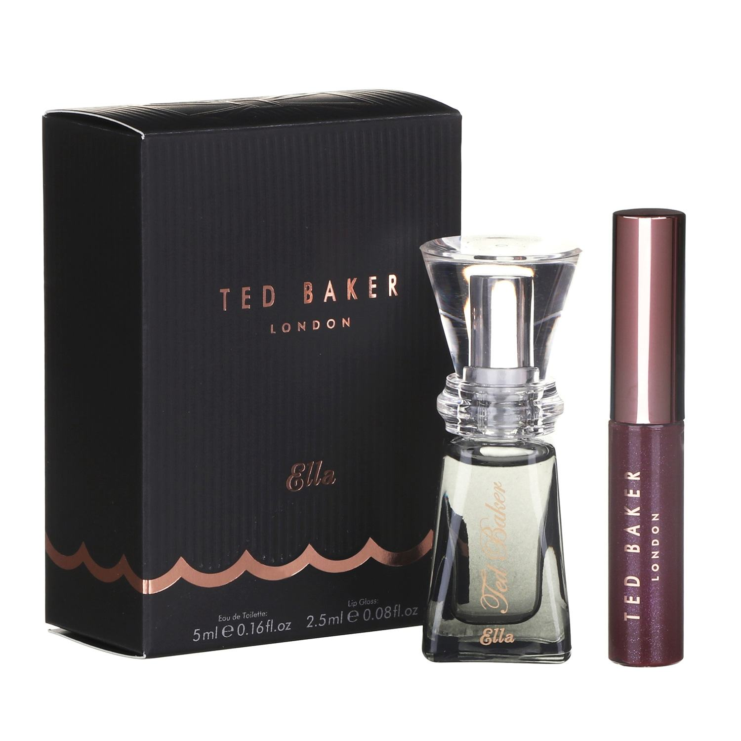 Ted Baker Sweet Things Come In Three Ella Perfume Lip Gloss Temptation Gifts