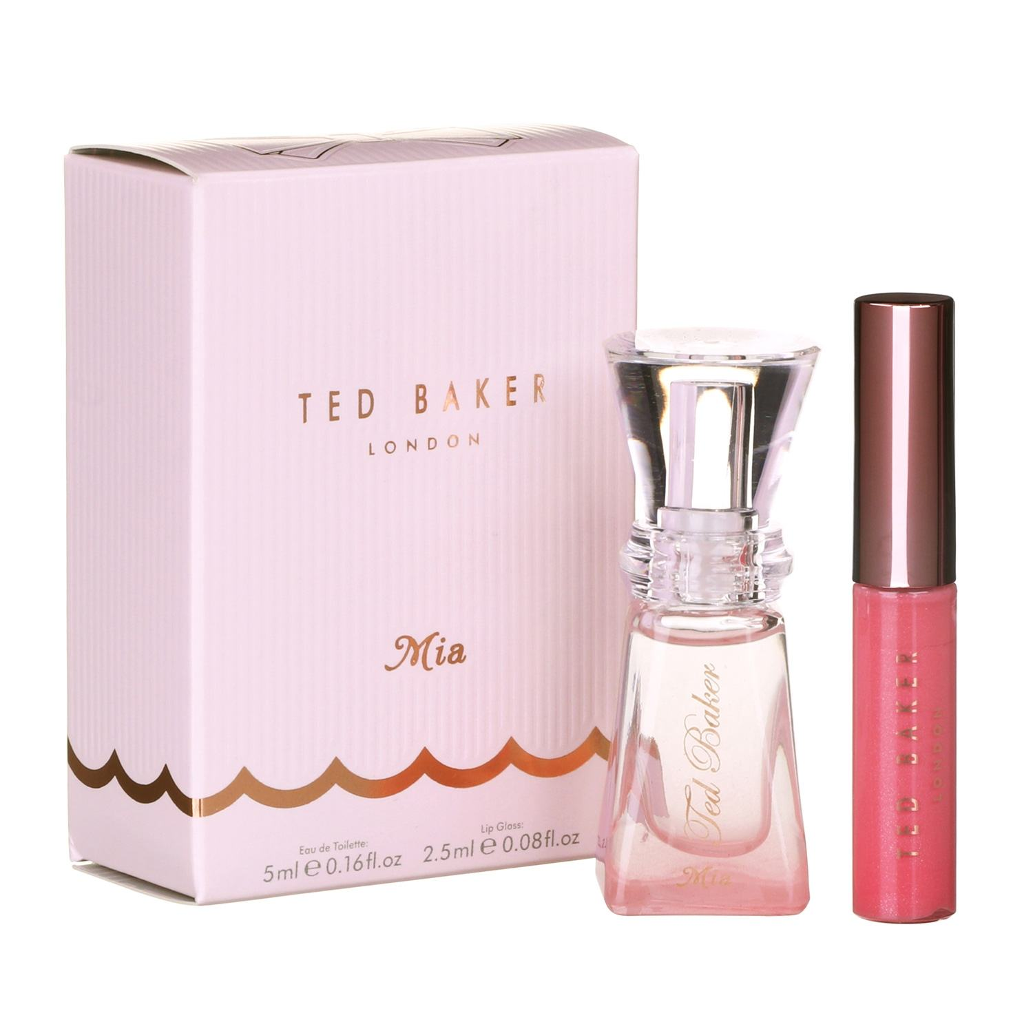 Ted Baker Sweet Things Come In Three Mia Perfume Lip Gloss Temptation Gifts