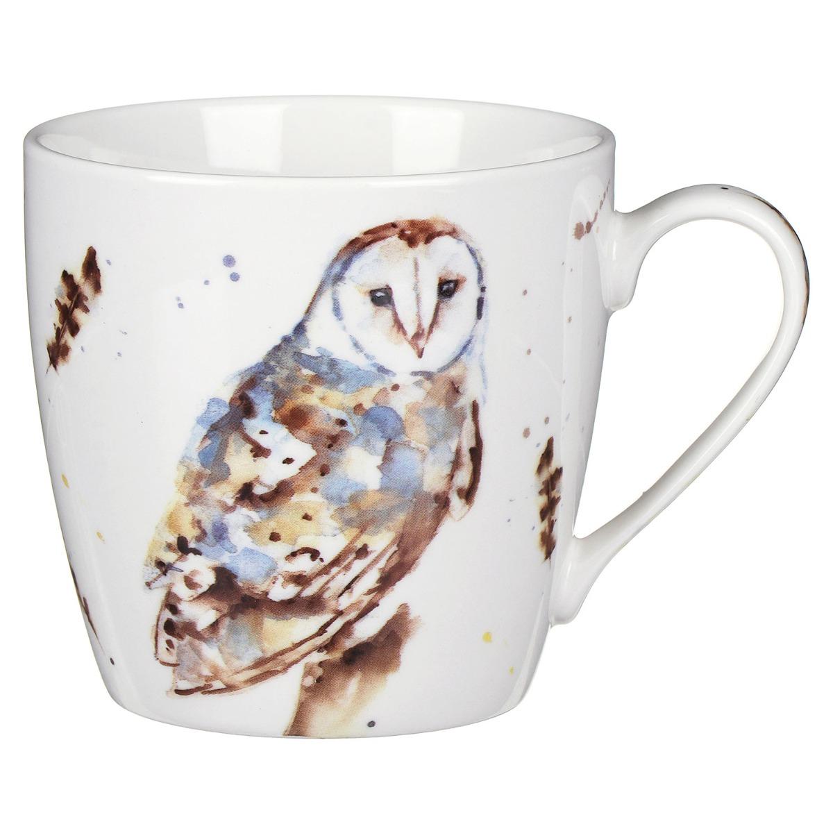Country Life Barn Owl Mug