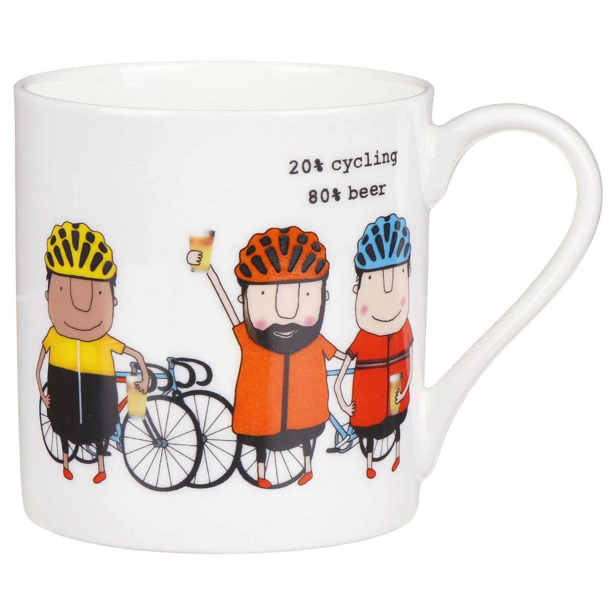Rosie Made A Thing Cycling/Beer Mug