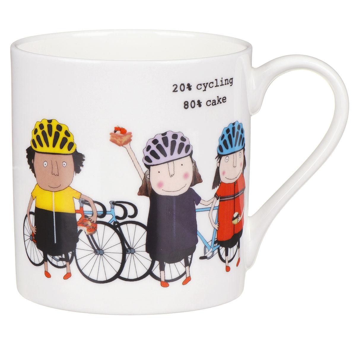 Rosie Made A Thing Cycling/Cake Mug