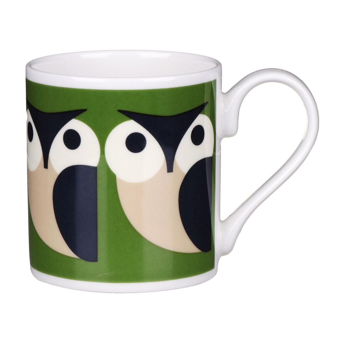 Orla Kiely Apple Owl Standard Mug