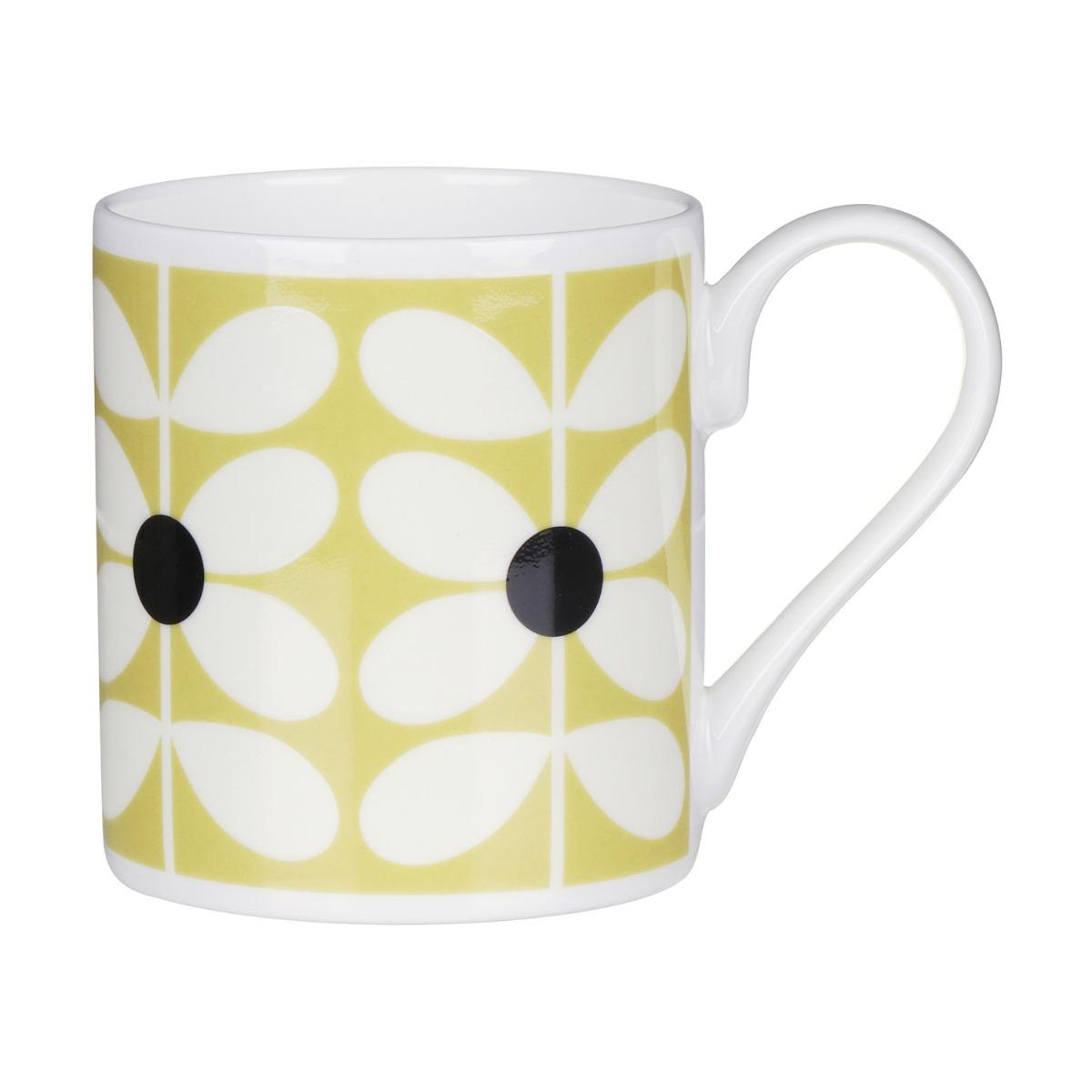 Orla Kiely 60's Stem Ochre Standard Mug