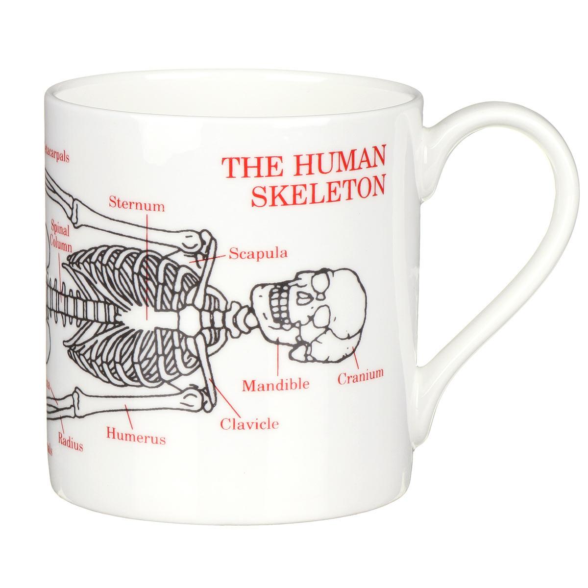 Mclaggan Smith Skeleton Large Mug