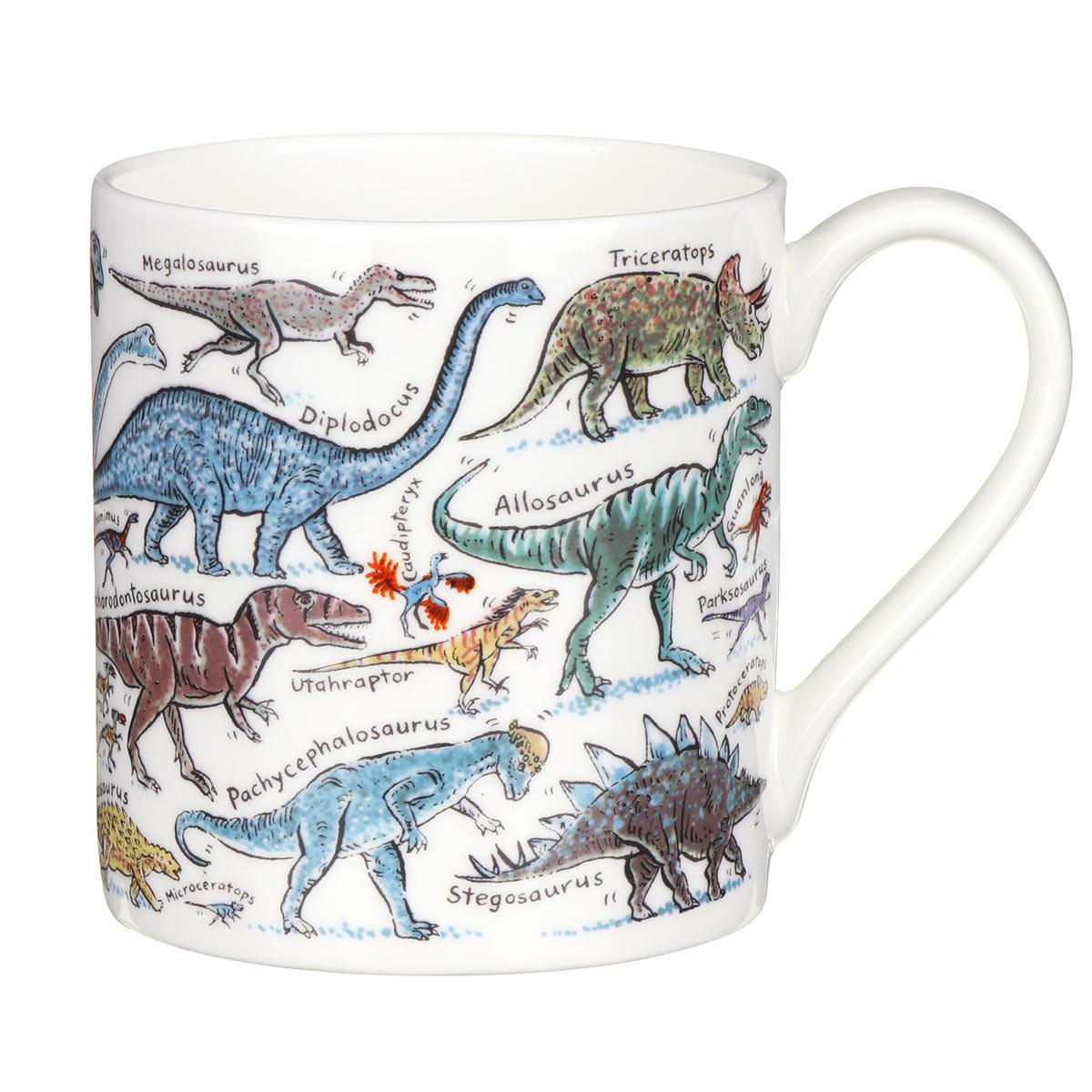 Mclaggan Smith Dinosaurs Large Mug