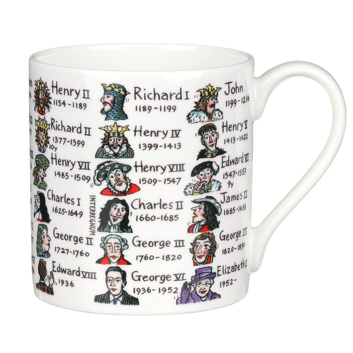 Mclaggan Smith Kings & Queens Large Mug