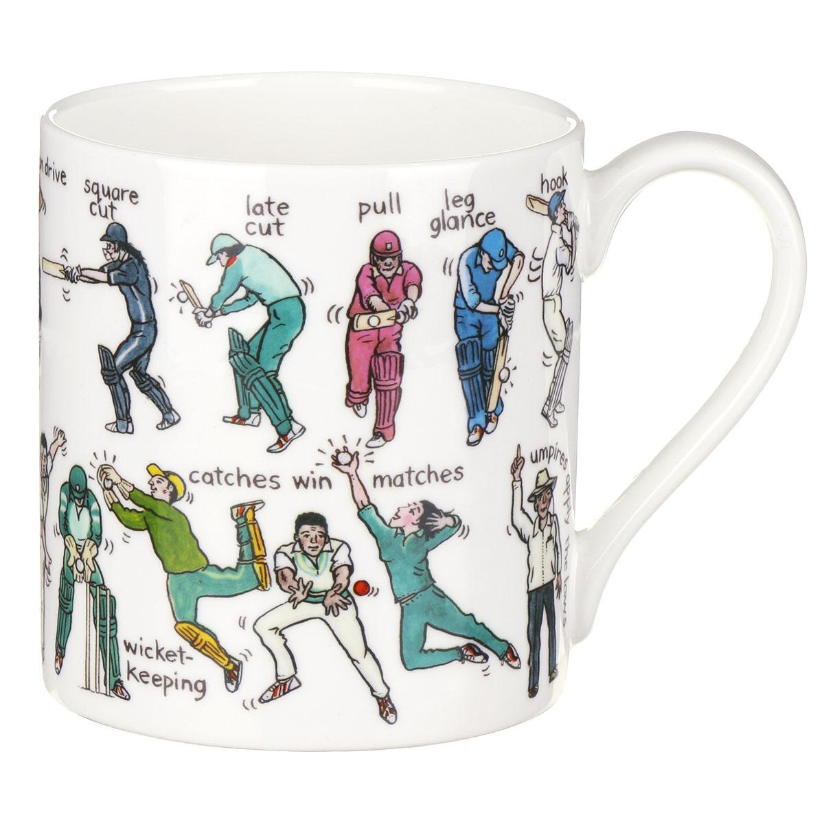 Mclaggan Smith The Art Of Cricket Large Mug