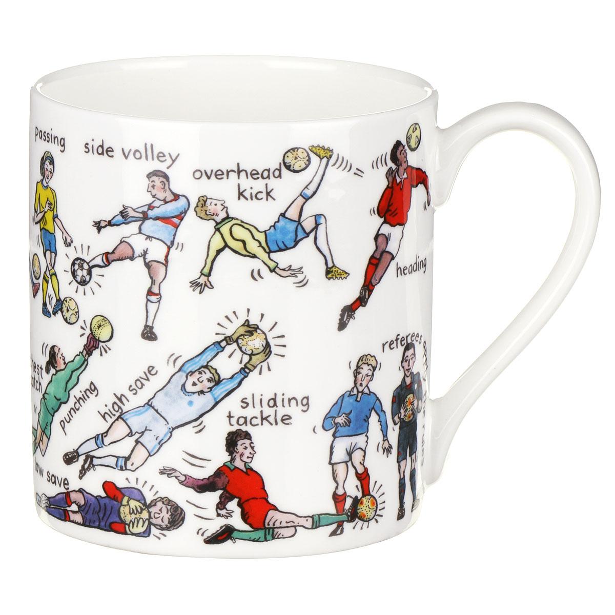 Mclaggan Smith The Art Of Football Large Mug