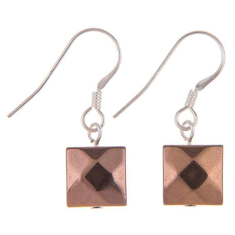 carrie elspeth metallic boudica bronze earrings