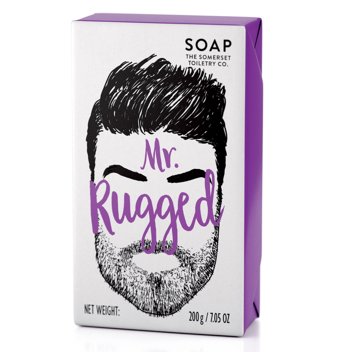 The Somerset Toiletry Co Mr Rugged Soap 200g