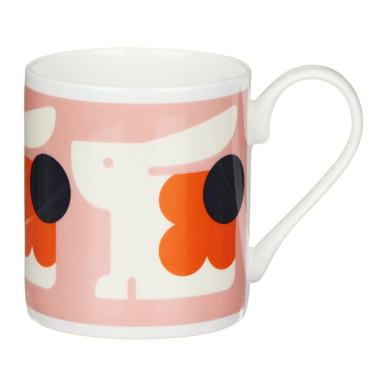 Orla Kiely Bonnie Bunnie Standard Mug