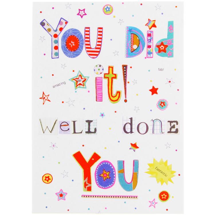 Paperlink Bits & Bobbins Congratulations Card