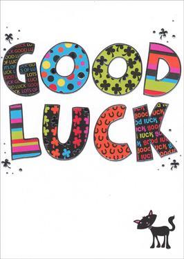 Paperlink Bangers & Flash Good Luck Card
