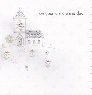 Paperlink Cherish Christening Day Card