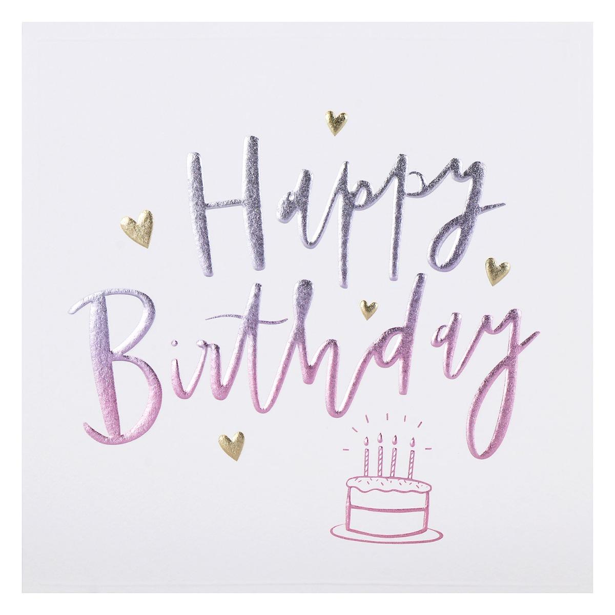 Paperlink Cloud Nine 'Cake' Birthday Card