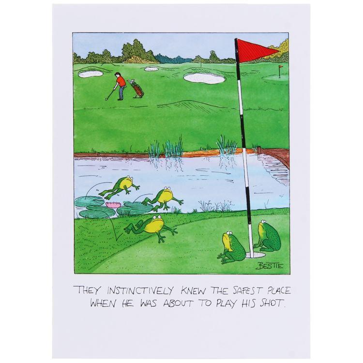 Paperlink Bestie Golf Shot Card