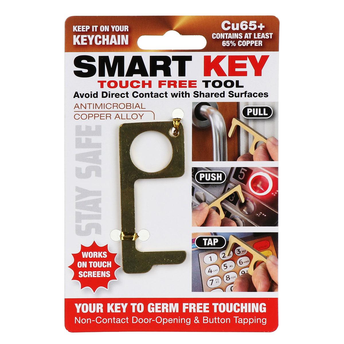 Anti Germ Copper Alloy Smart Key