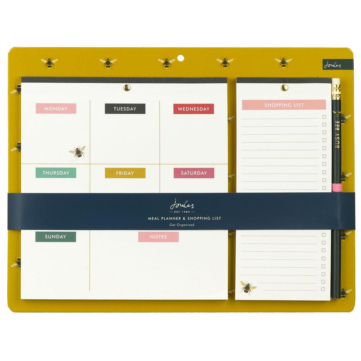 Joules Bee Weekly Planner Pad