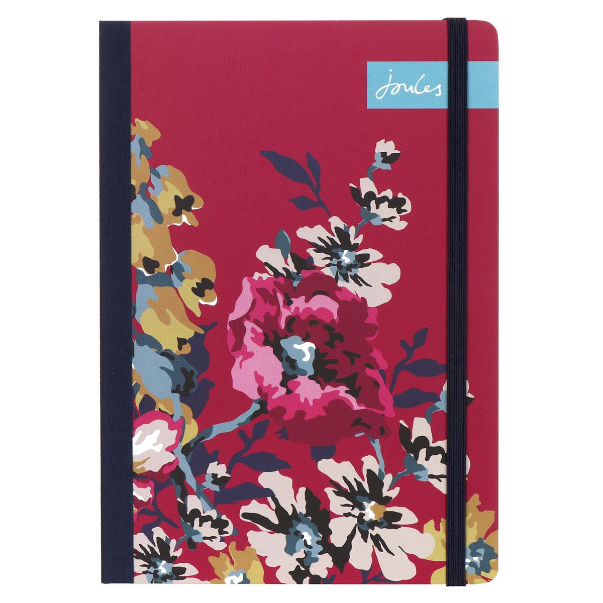 Joules Cambridge Floral A5 Flexi Journal
