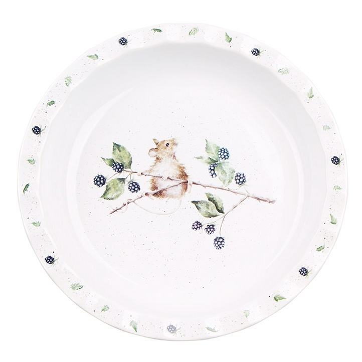 Wrendale 10.7 Inch Mouse Pie Dish from Royal Worcester
