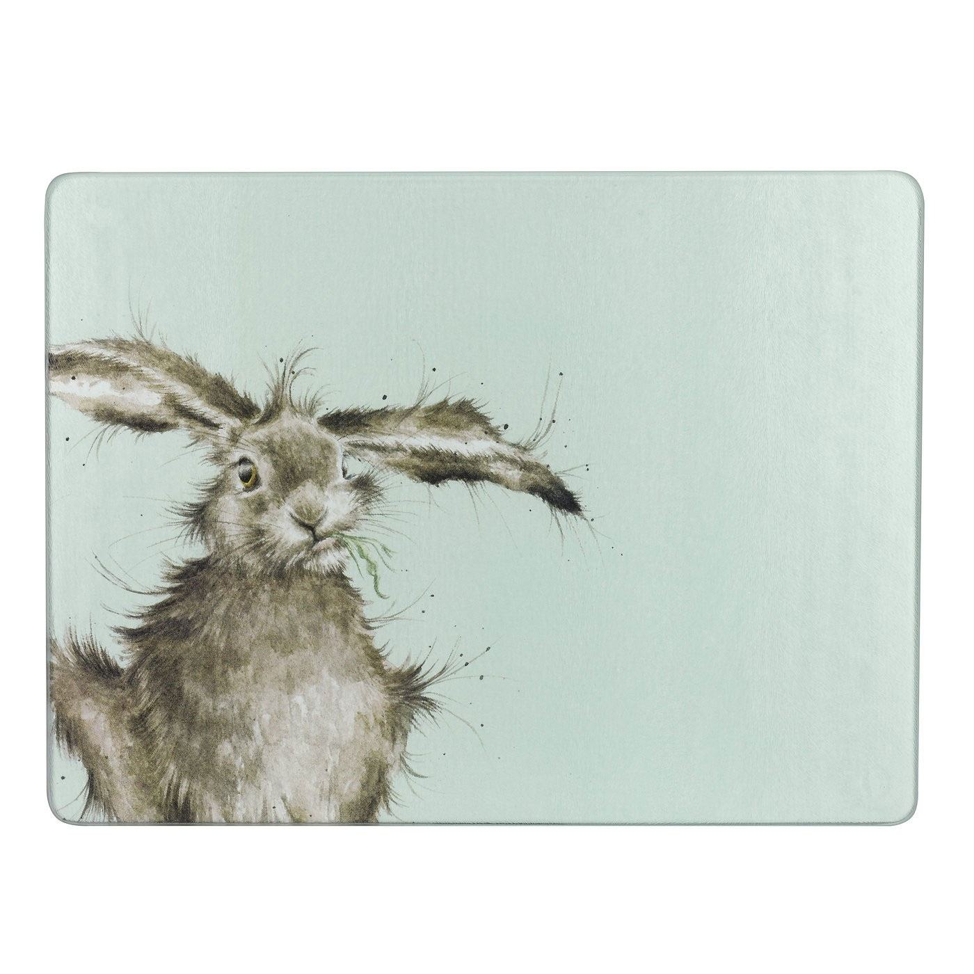 Wrendale Hare Glass Worktop Saver | Temptation Gifts