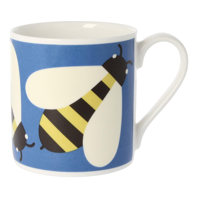 Orla Kiely Busy Bee Blue Large Mug