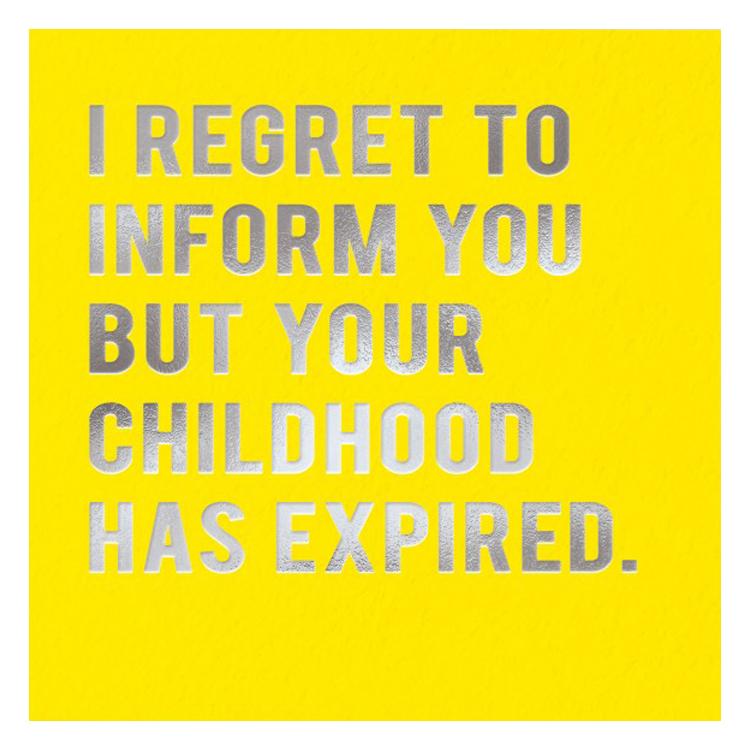 Cloud Nine Childhood Card