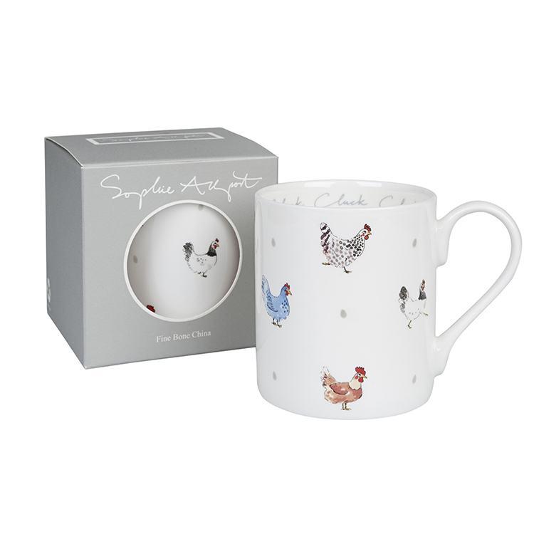 Sophie Allport Cluck Cluck Cluck Standard Mug