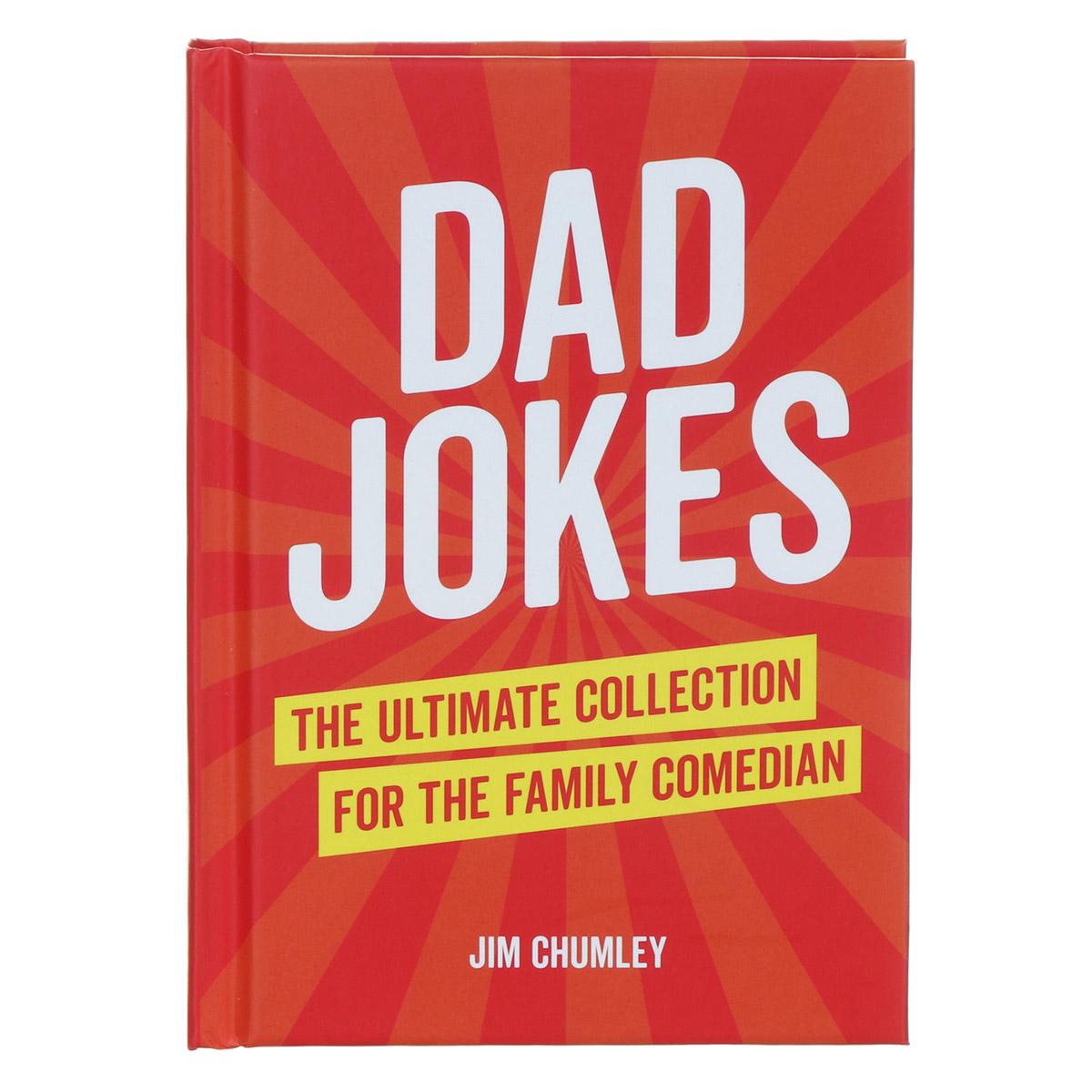 Dad Jokes Hardback Book