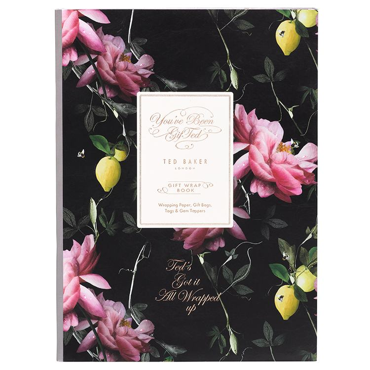 ted baker citrus bloom gift wrap book of temptation gifts