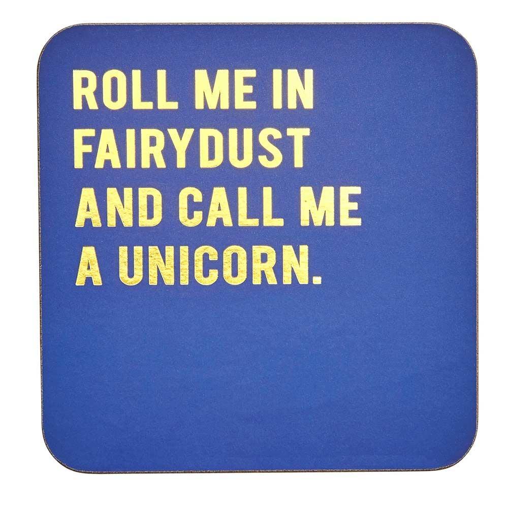 Transomnia Cloud Nine 'Call Me a Unicorn' Coaster