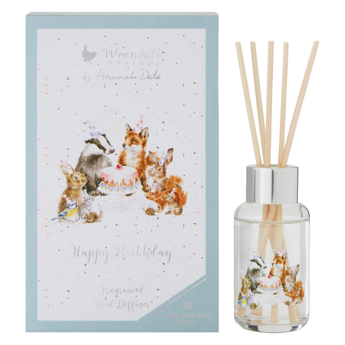 Wrendale Happy Birthday 40ml Reed Diffuser Temptation Gifts