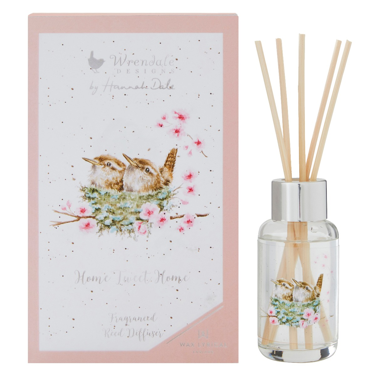 Wrendale Home Tweet Home 40ml Reed Diffuser Temptation Gifts