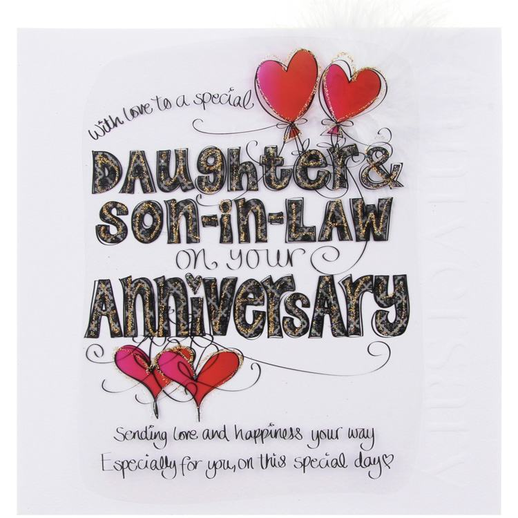 Wedding Gifts For My Son And Daughter In Law : daughter happy anniversary to son and tinklers daughter amp son in law ...